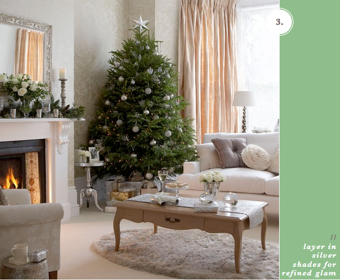 Three Festive Living Room Ideas From Bright Bazzar Darlings Blog