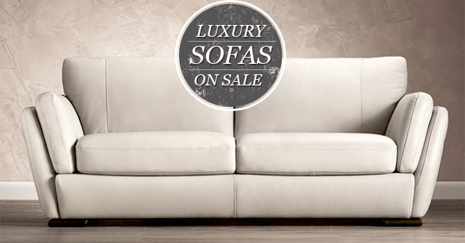 Luxury sofas on sale