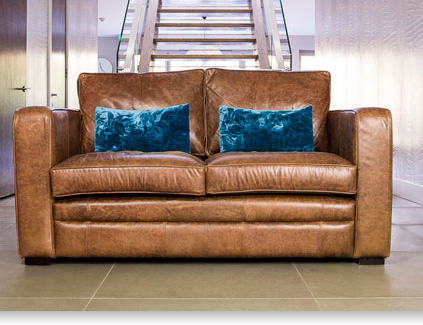 st james leather sofa