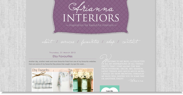 arianna interiors blog