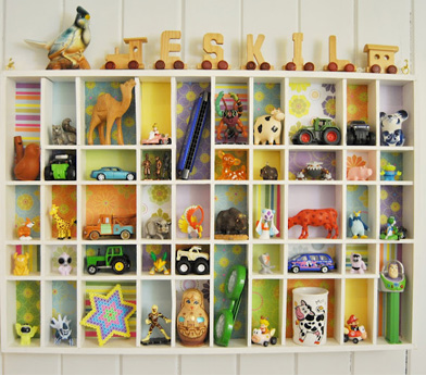 kids shelving idea