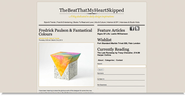 the heart that skipped a beat blog