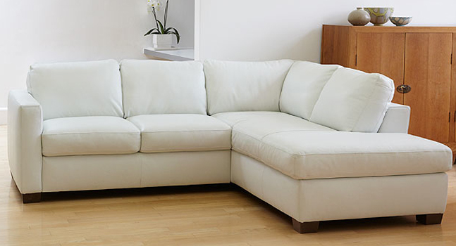 Italian leather sofa (bari)