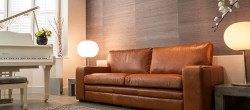 Sloane Leather Sofa