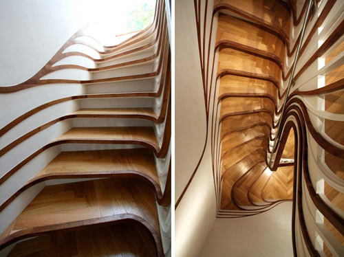 Weird And Wonderful Staircases