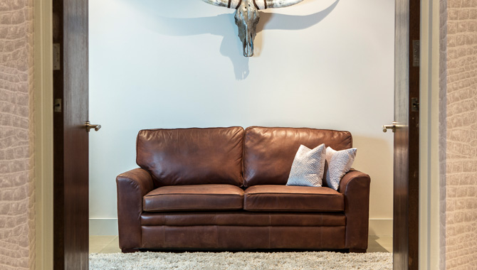 What Colour Carpet Goes With A Brown Leather Sofa