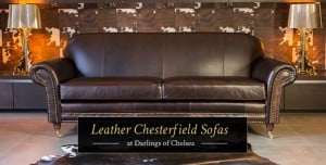 Leather Chesterfield Sofas at Darlings of Chelsea
