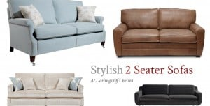 Relax on a Stylish Comfy 2-Seater Sofa This Winter