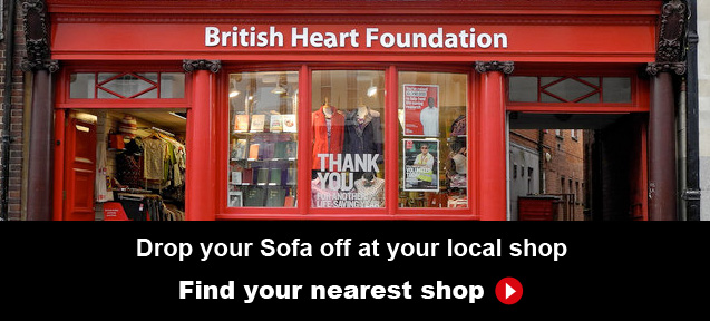 Donate Your Old Sofa To The British Heart Foundation Darlings Of Chelsea