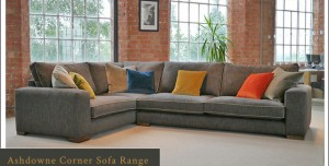 The NEW Ashdown Corner Sofa at Darlings of Chelsea