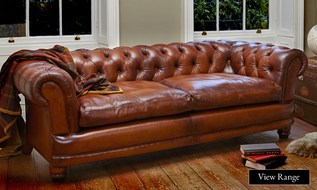 Style Ideas: Traditional Leather Sofas | Darlings of Chelsea ...