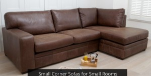 Small Corner Sofas for Small Rooms from Darlings of Chelsea