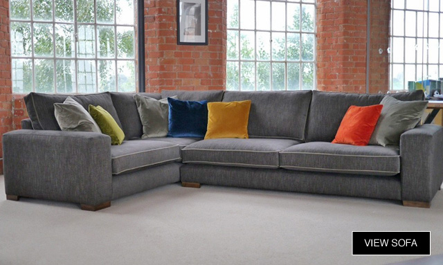 New Sumptuous Large Fabric Corner Sofas Darlings Of Chelsea Blog