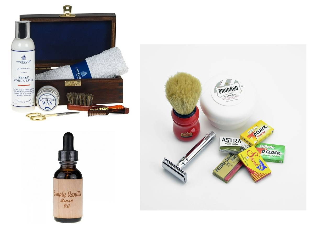 Blog - Xmas Gift Guide Beards combined