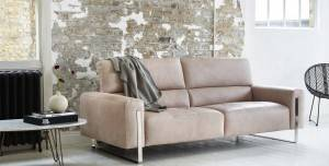 Create a statement with  a bold new Lorena sofa.