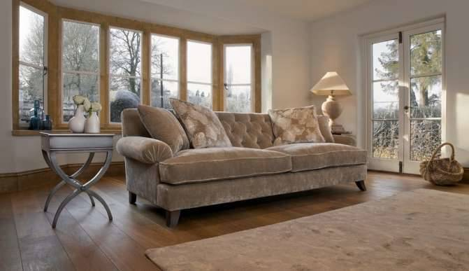 Superieur Heart Medium Sofa In Bloomsbury Seal