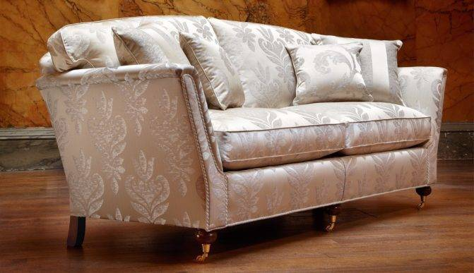Duresta Rusking Sofa with Foam Back and Seat Cushions