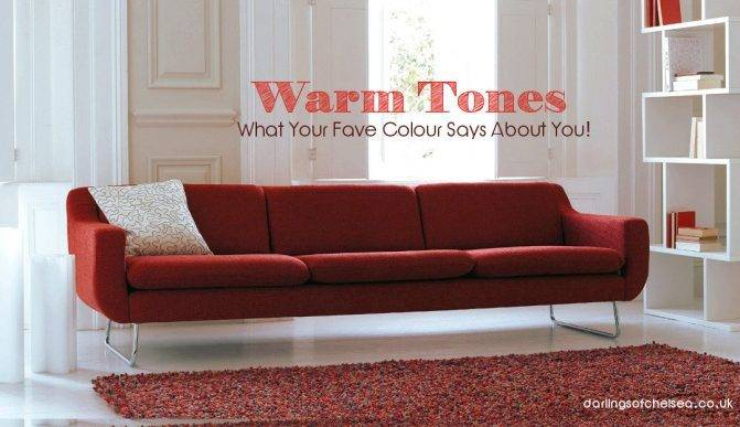 Warm Tones | What Your Favorite Colour Says About You