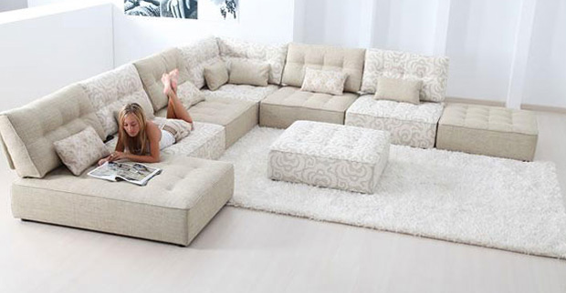 Alice Modular Leather Sofa. Large Corner Sofas At Darlings Of Chelsea Blog